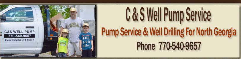 Well Pump Services Gainesville, Athens & North Georgia